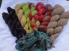 Spinzilla 2015 yarns