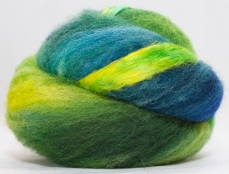 hand dyed fibre